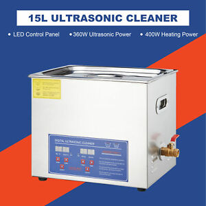 Industrial Grade Professional Ultrasonic Cleaner Heater For Lab Dental Fcc App