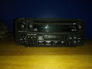 98 99 00 01 02 03 Chrysler Dodge Jeep Radio Cassette P04858540ah Free Shipping