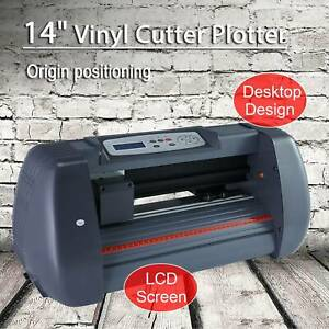 Vinyl Cutter Plotter Cutting 14 Sign Maker Graphics Handicraft Wide Format New