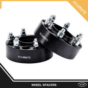 2pc 2 6 Lug Hubcentric Black Wheel Spacers Adapters 6x135 For Ford F 150 Raptor