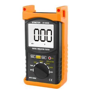 5000v Digital Insulation Resistance Tester Pro Voltage Measure 200g Auto Range