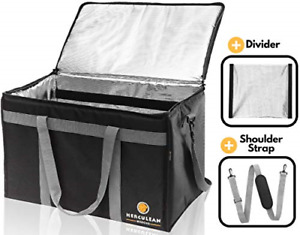 Insulated Food Delivery Bag Hot Cold Thermal Commercial Catering Durable Wate
