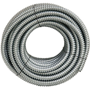 100 Ft X 1 2 In Flexible Steel Conduit Afc Cable Systems Wire Metal Raceway
