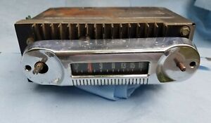 Original 1966 1969 Ford Truck Am Radio Assembly Fomoco 6tbt Bronco Econoline