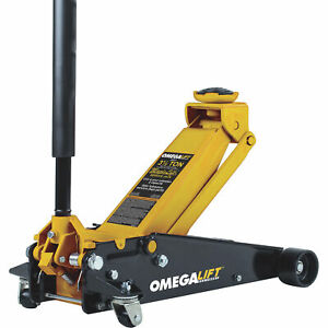 Omega 3 5 Ton Magic Lift Service Floor Jack Aluminum Steel Model 29037