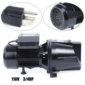 550w 0 75 Hp Shallow Well Jet Pump High Speed Pump Adjustable Pressure Switch Us