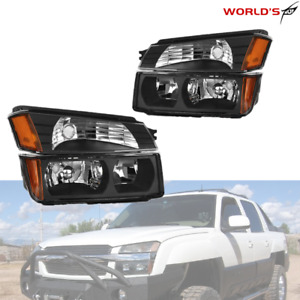 Cladding Model Headlights bumper Signal Lamps For 2002 2006 Chevy Avalanche Body