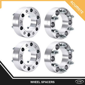 4x 2 Wheel Spacers Adapters 6 Lugs 6x5 5 12x1 5 For Toyota Tacoma 4runner