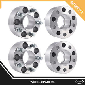 4x 2 Hubcentric Wheel Spacers For Jeep Grand Cherokee Wrangler Liberty 5x4 5