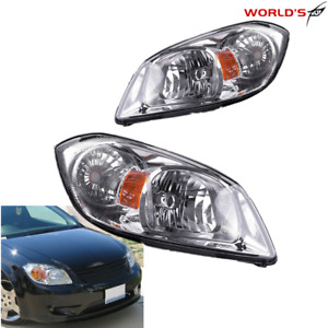 Headlight Assembly Replacement For 2005 2010 Chevy Cobalt 07 09 G5 05 06 Pursui