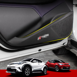 Fits 2016 2020 Toyota C hr Chr Car Side Door Mat Protect Guard Cover Trim