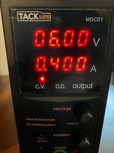 Tacklife Mdc01dc Power Supply Variable Switching Dc Regulated Power Supply Open