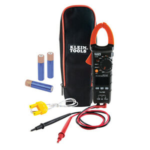 Klein Tools Digital Electrical Tester Ac dc Clamp Meter Auto ranging 400 Amp