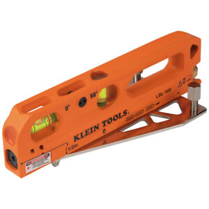 Klein Tools Magnetic Torpedo Level With Laser Level lbl100