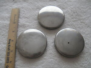 3 Vintage Gas Caps For Vintage Cars Rat Rod Motorcycle