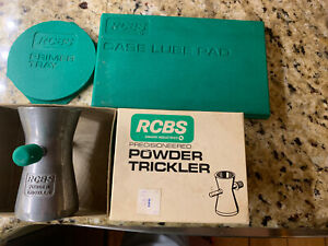 RCBS Powder Trickler Case Lube Pad Primer Tray Reloading Supplies $24.97