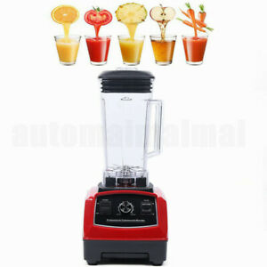 2l 1500w Heavy Duty Commercial Grade Blender Mixer For Juicer Food Fruit Ice110v