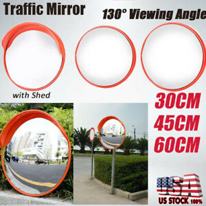 Convex Pc Traffic Mirror 12 18 24 Acrylic Outdoor Safety Security Blind Spot Us