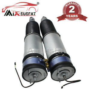 2x Rear For Bmw 7 Series E65 E66 W edc Air Suspension Shock Absorber 2001 2008