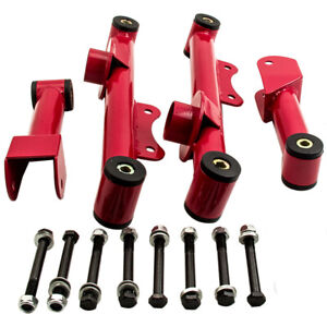 Upper And Lower Rear Tubular Control Arms W Bushings For Ford Mustang 1979 2004