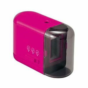 Plus Battery operated Pencil Sharpener Pink 84 029