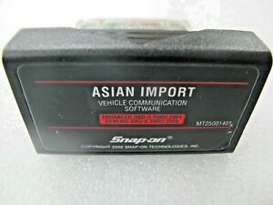 2001 Snap On Mt2500 Mtg2500 Scanner Asian Primary Cartridge For Japanese Cars