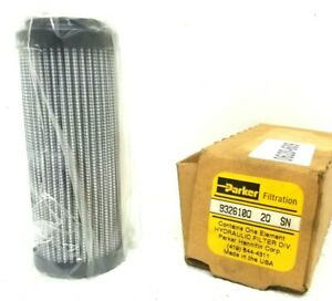 Parker Filtration Hydraulic Filter Div 932610 2q Sn