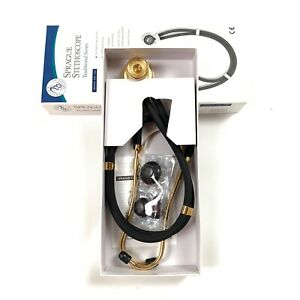 Sprague Stethoscope Traditional Series Latex Free Gold Plated