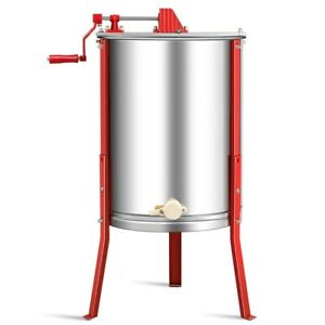 Professional Large 4 Frame Stainless Steel Honey Extractor Beekeeping Equipment
