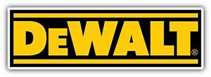 Dewalt Tools Tool Usa Car Bumper Window Tool Box Sticker Decal 8 x2 5
