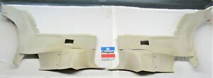 1974 74 Dodge Charger Satellite Road Runner Lower Rear Door Panels Parchment