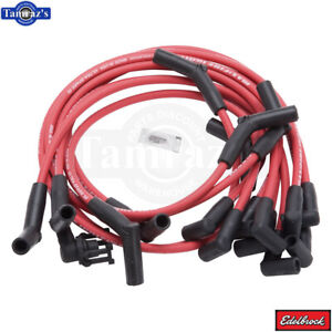 Max Fire Ultra Spark 50 High Performance Spark Plug Wire Set Red