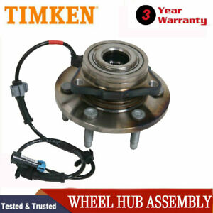 4wd Timken New Front Wheel Hub Bearing Assembly For Silverado 1500 Sierra