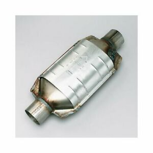 Catco Catalytic Converter Stainless Universal 2 5 Inlet Outlet 16 5 Length Ea