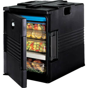 Cambro Ultra Insulated Food Carrier Hot Box Black Upc400 110