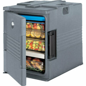 Cambro Ultra Insulated Food Carrier Hot Box Granite Gray Upc400 191