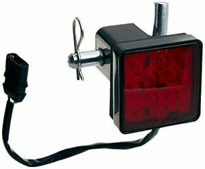 Trailer Hitch Cover With 12 Leds Built In Brake Light Towing Hitch Cover Rv Suv