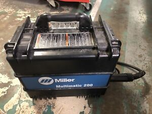 Miller Multimatic 200 Multiprocess Welder 907518