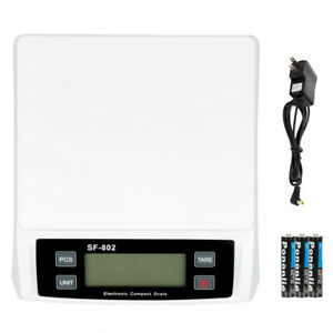 Accuteck 66lbx0 1oz All in one Lcd Digital Shipping Postal Scale W ac Postage