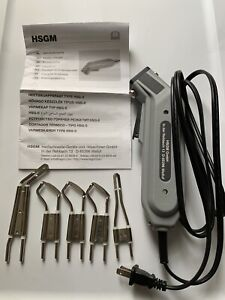 New Engel Heat Cutter Hsgm Hot Knife With 3 type R Blades 1 Angle Blade 1 Keen