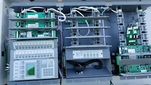 Est 3 fire Alarm Control Panel A Complete System used Everything Included