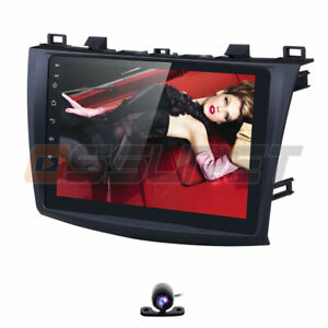 For 2010 2013 Mazda 3 9 Android 9 0 Car Radio Stereo Navi Gps Canbus Bt Cam