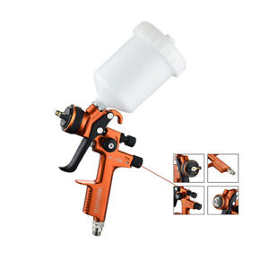 Professional Hvlp Air Spray Gun W 600ml Cup 1 3mm Nozzle Auto Paint For Car Us