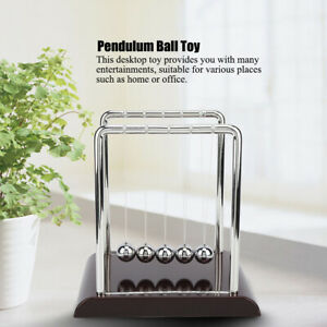 Pendulum Ball Toy Home Office Desk Ornament Educational Scientific Tool