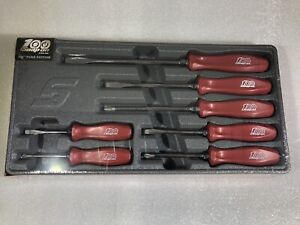 Snapon 100th Anniversary 7 Pc Screwdriver Set Rare Colour