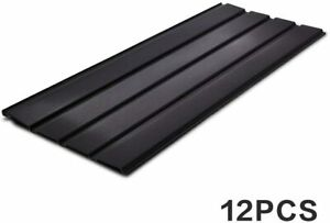 12pcs Roof Sheets Roofing Tiles Cladding Galvanized Metal 115 45cm