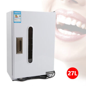 27l Medical Dental Surgical Instruments Uv Sterilizer Disinfection Cabinet