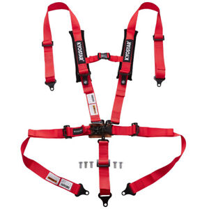 2 5 Point Latch And Link Safety Harness Comfort Soft Heavy Duty Shoulder Pads