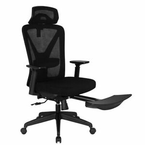 High End Home Office Desk Chair Ergonomic Executive Computer Chair W Footrest