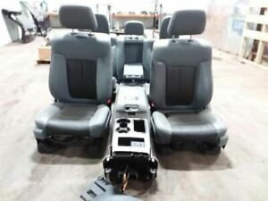 Ford F150 Lariat Seat Package Donor Truck Was A 2011 807380